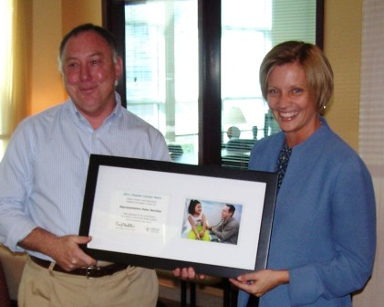 Rep Buckley Award Sept 2011 4 for web